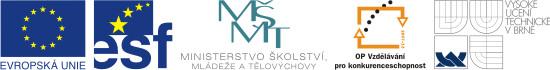 EU Logo, Investice do rozvoje vzdělávání